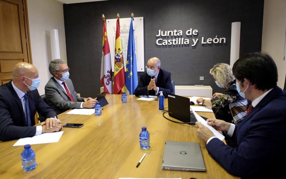 Alcalde de León en Valladolid.