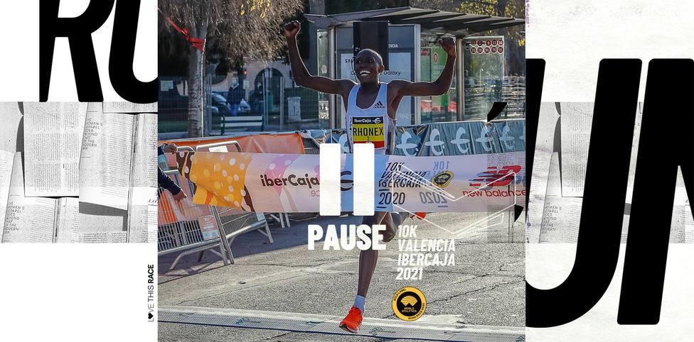 Rhonex Kipruto batió el récord del mundo de 10K en Valencia en 2020