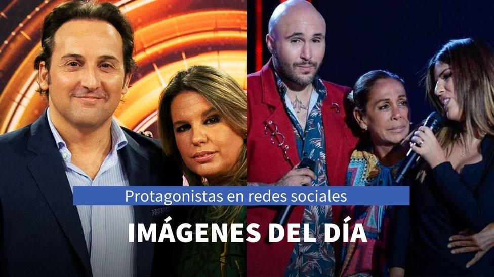 Imágenes del día: el mensaje de Kiko Rivera a su hermana y la foto de Iker Jiménez con Carmen Porter