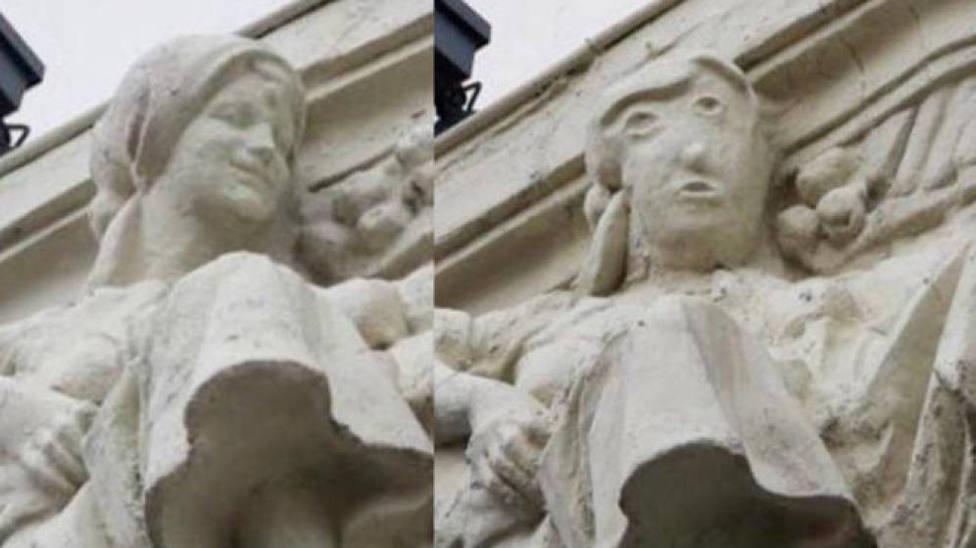Palencia ya tiene su Ecce Homo: una figura escoltórica, completamente deformada