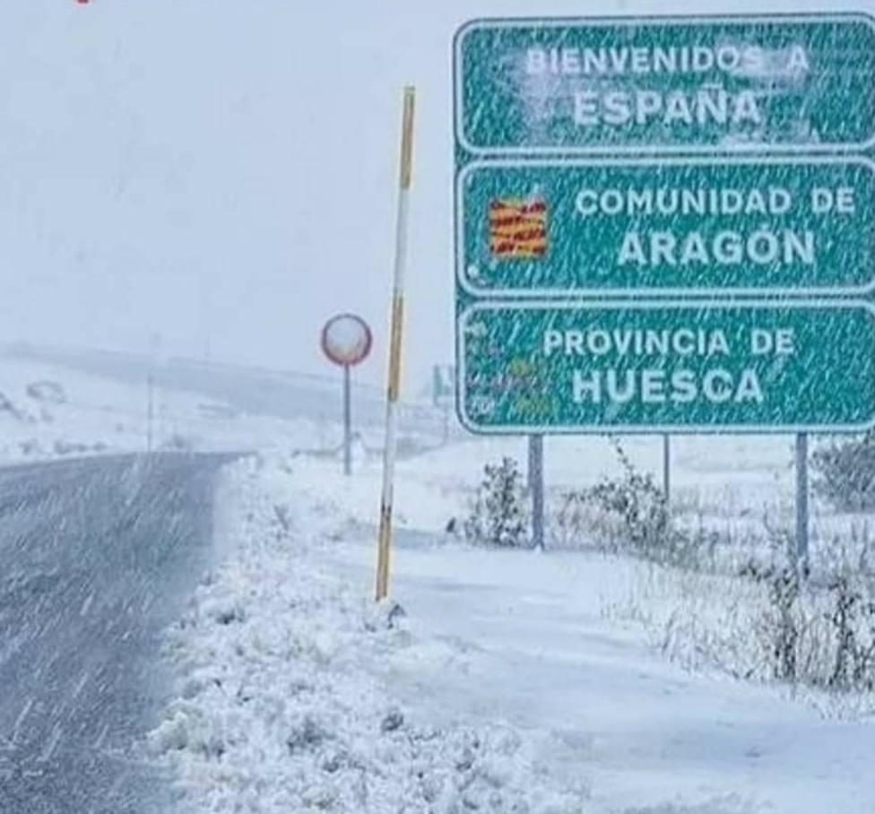 Nieve en el Pirineo