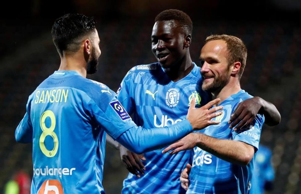 El Marsella firma su quinto triunfo consecutivo en Liga