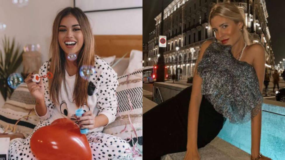 Collage Instagram Teresa Andrés Gonzalvo y Rocío Camacho