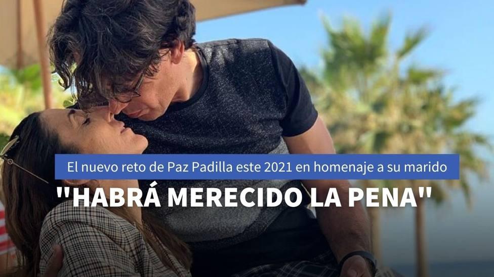 El nuevo reto personal de Paz Padilla para este 2021 con el que piensa hacer homenaje a su marido