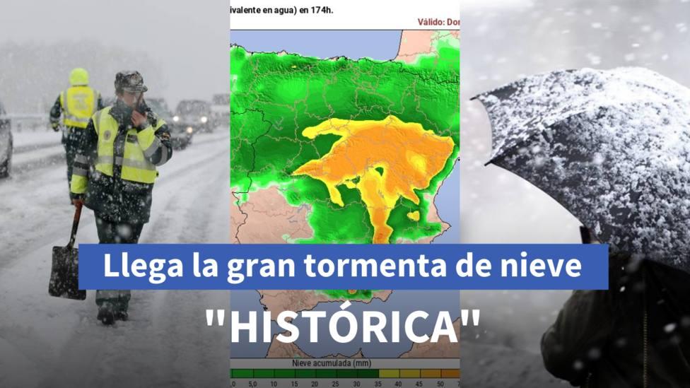 España se prepara para la gran tormenta de nieve