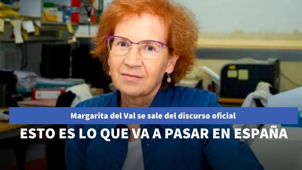 Margarita del Val se sale del discurso oficial y avisa de lo que va a pasar en España con la pandemia