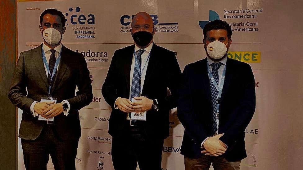 Alianza de jóvenes empresarios en la Cumbre Iberoamericana de Andorra