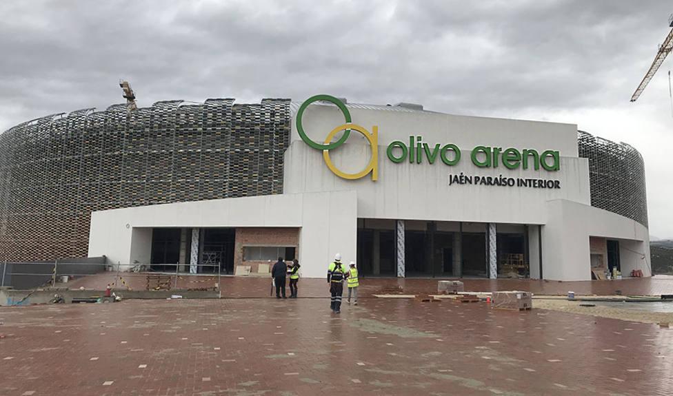 El Olivo Arena se convierte en la obra deportiva pública de mayor envergadura de Andalucía