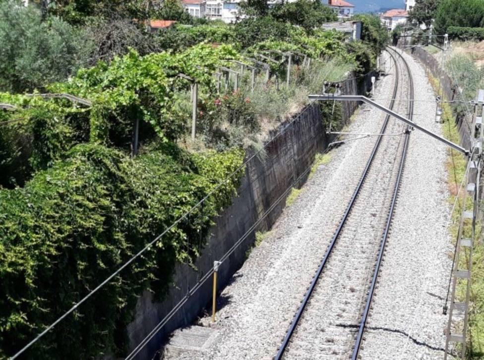 Tramo ferroviario Monforte-Ourense