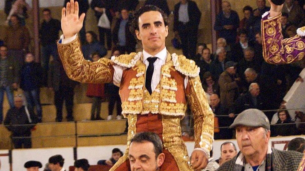 Joaquín Galdós, en una imagen de archivo, ha cortado cuatro orejas este martes en Segovia