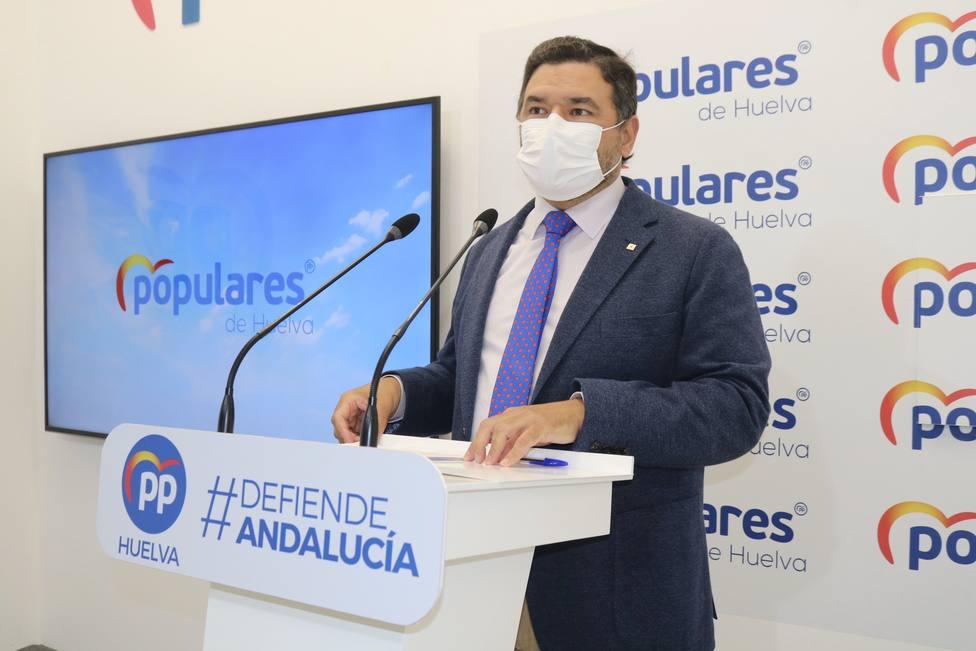 José Enrique Sánchez, senador PP-H