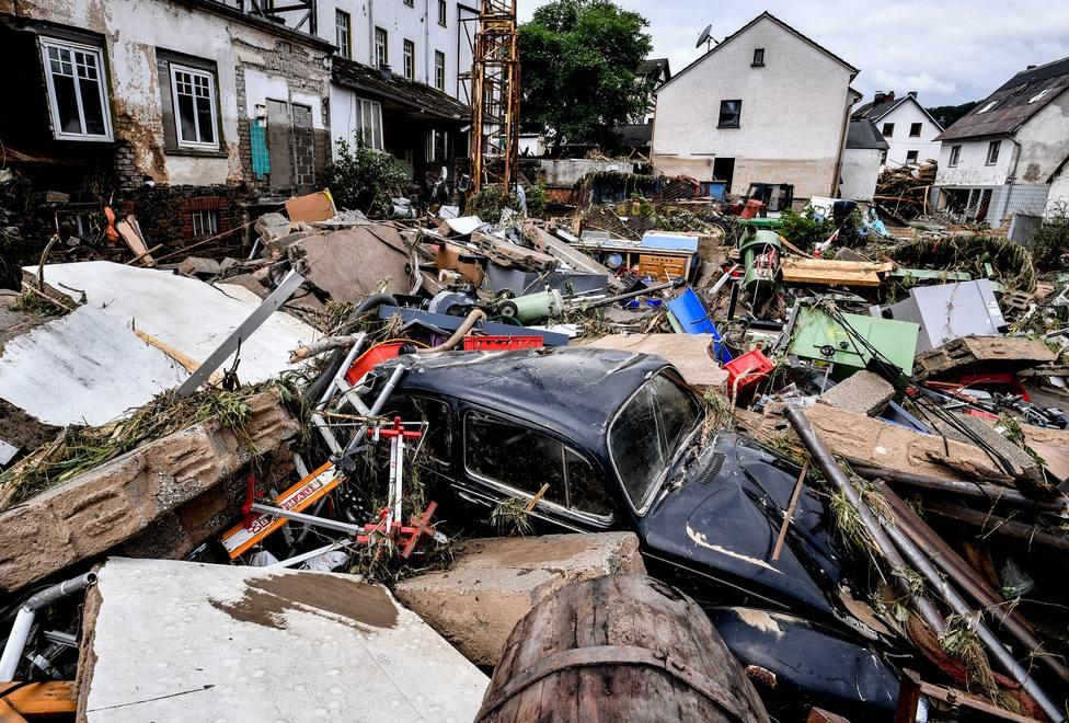 Aumenta a 93 el número de víctimas mortales tras las inundaciones en el oeste de Alemania