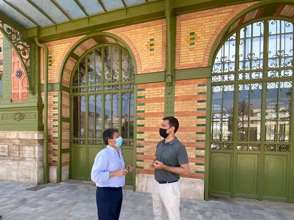 ALmería.- El PP vuelve a preguntar en el Congreso sobre el futuro de la antigua estación de tren de la capital