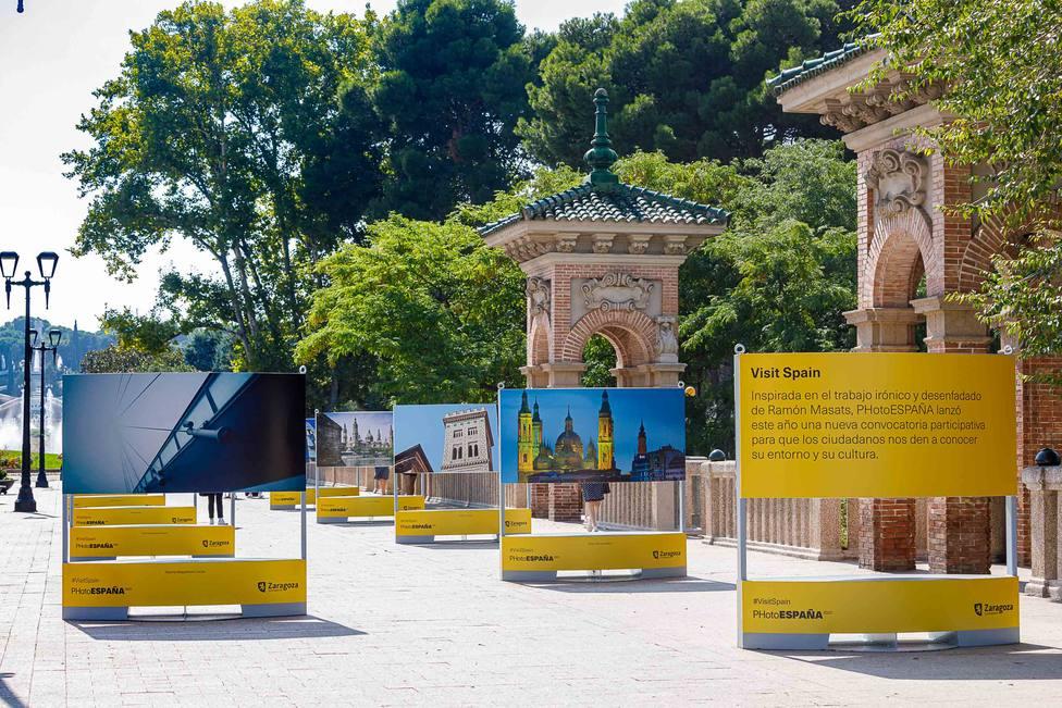PhotoEspaña. Parque Grande. Exposición. Ayuntamiento de Zaragoza