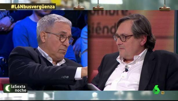 La surrealista bronca entre Sardà y Marhuenda en LaSexta Noche