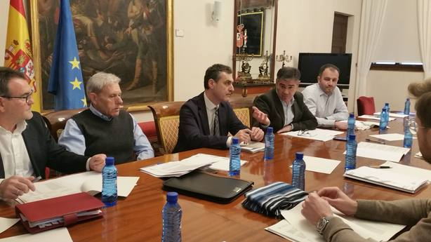 González Ramos se reune con los alcaldes de los municipios afectados