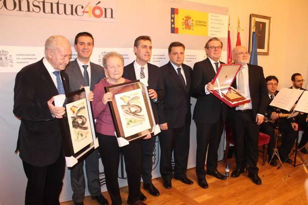 Premiados en el reconocimiento a los valores constitucionales