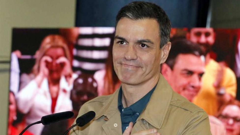 Sánchez se agarra a la aplicación del 155 en Cataluña para hacer campaña