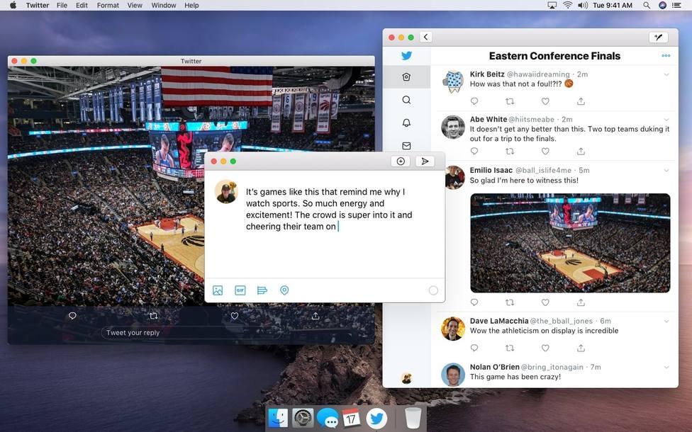Twitter para macOS añadirá funciones nativas aunque tomará como base la versión de iPad