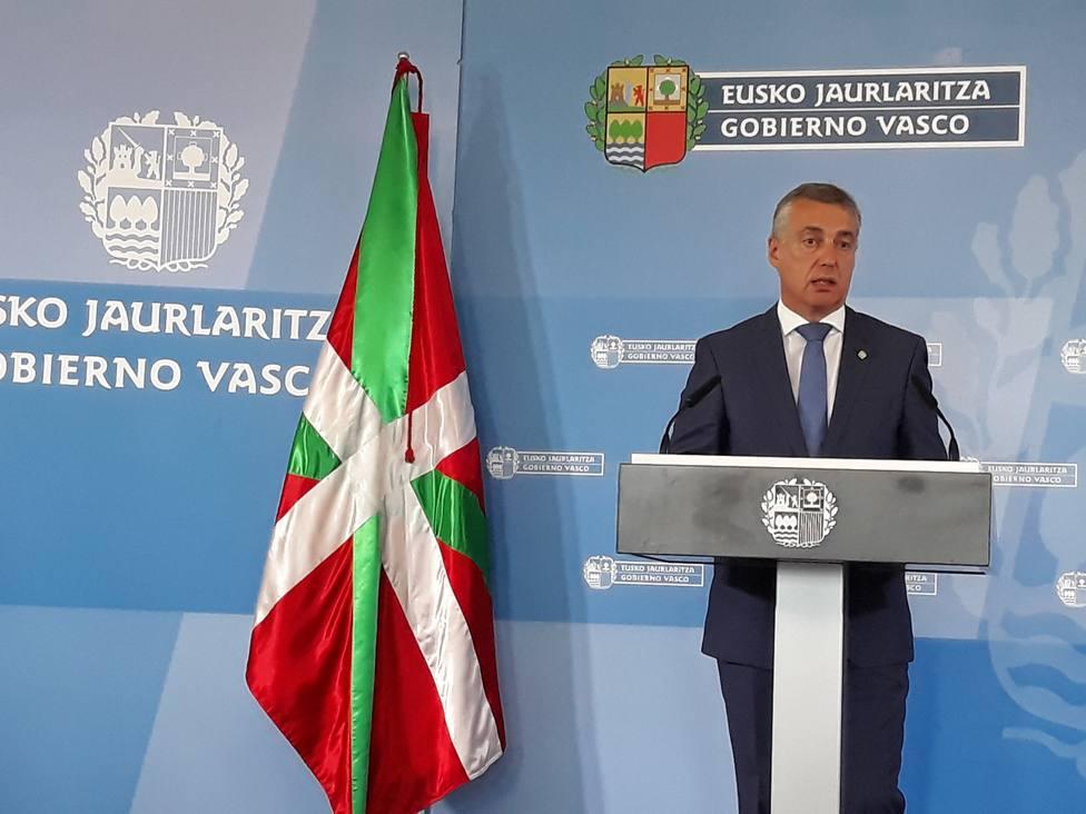 Urkullu defenderá en la ONU el papel de los Gobiernos no estatales en el desafío mundial del desarrollo sostenible