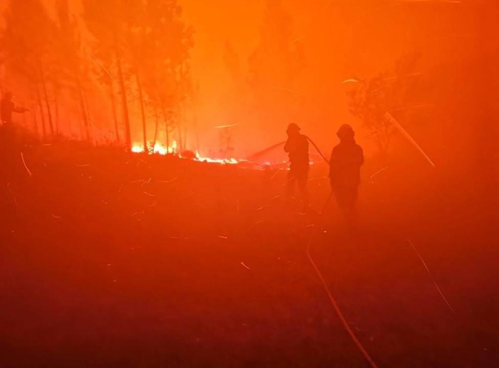 Al menos 39 heridos a causa de varios incendios forestales en Portugal