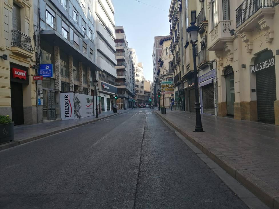 Calle Tesifonte Gallego en Albacete