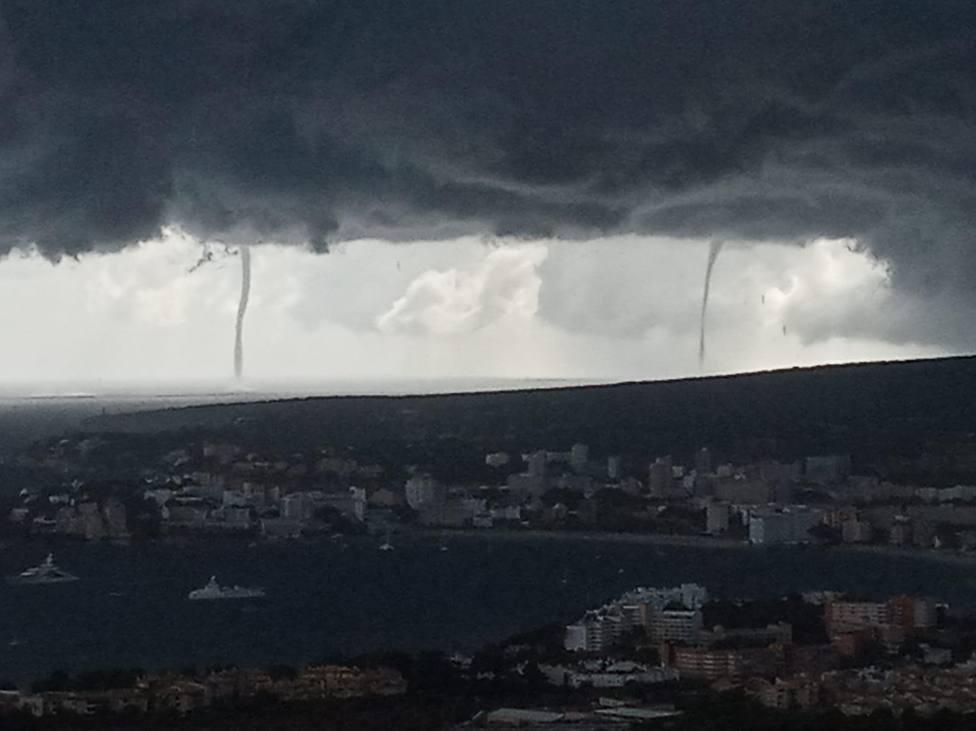 La gota fría aún puede dejar hoy tormentas y chubascos fuertes en Baleares