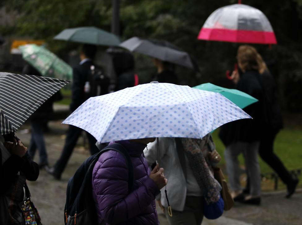 Protección Civil recomienda extremar las precauciones por las lluvias torrenciales este fin de semana en Madrid