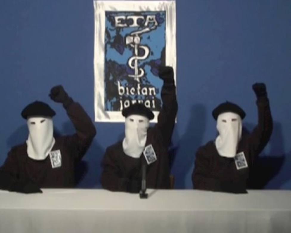 Una imagen de archivo de integrantes de la banda terrorista ETA