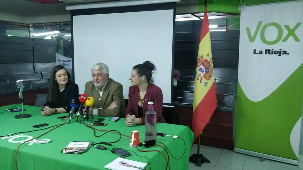 Vox La Rioja orgullosos de sus resultados por el mensaje de Santiago Abascal que ha calado