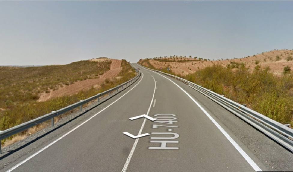 Dos muertos y un herido grave en un accidente de tráfico en la HU-7400 a la altura de Paymogo (Huelva)
