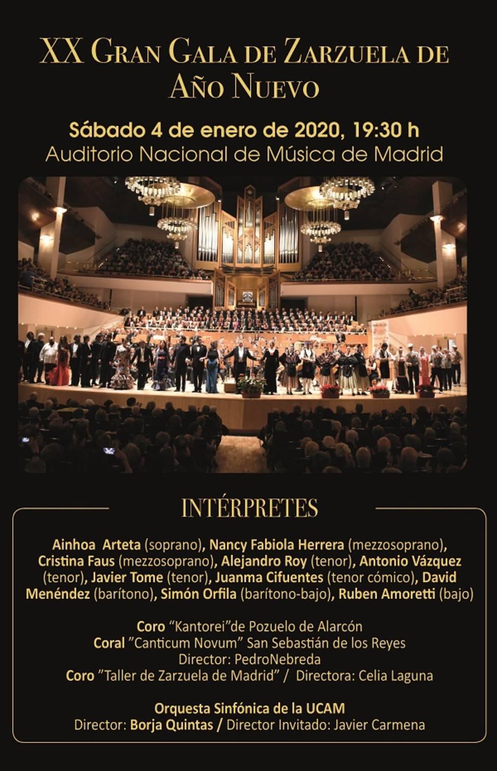 La Sinfónica de la UCAM actúa este sábado en el Auditorio Nacional de Madrid