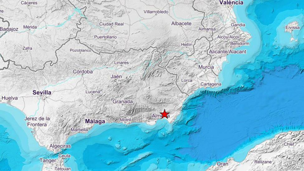 Terremoto en Viator, Almería