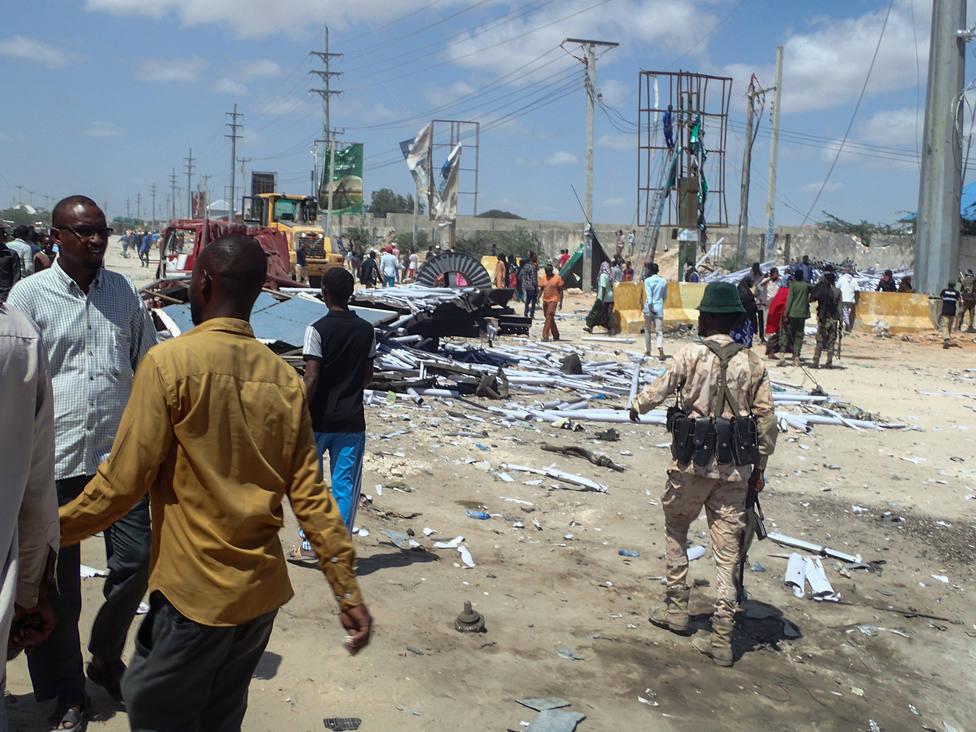 Mueren cuatro personas, entre ellas un alto cargo de la Policía de Somalia, en un atentado de Al Shabaab