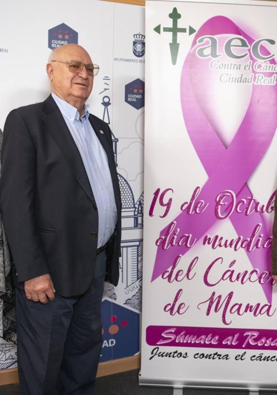 Enrique Garrido, secretario AECC Ciudad Real
