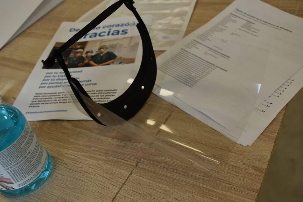Mascarillas fabricadas en impresoras 3-D