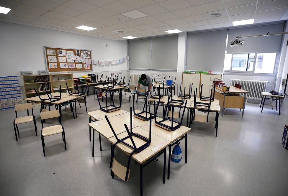 La educación pública vasca empieza a retomar la actividad presencial
