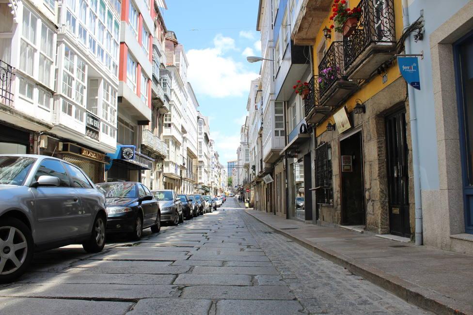 Foto de archivo de la calle Magdalena de Ferrol - FOTO: Cedida