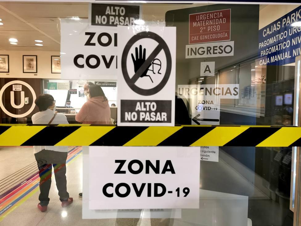 Foto de archivo de una zona de protección contra el coronavirus - FOTO: Europa Press