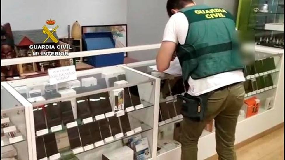 Operación Imopail Guardia Civil