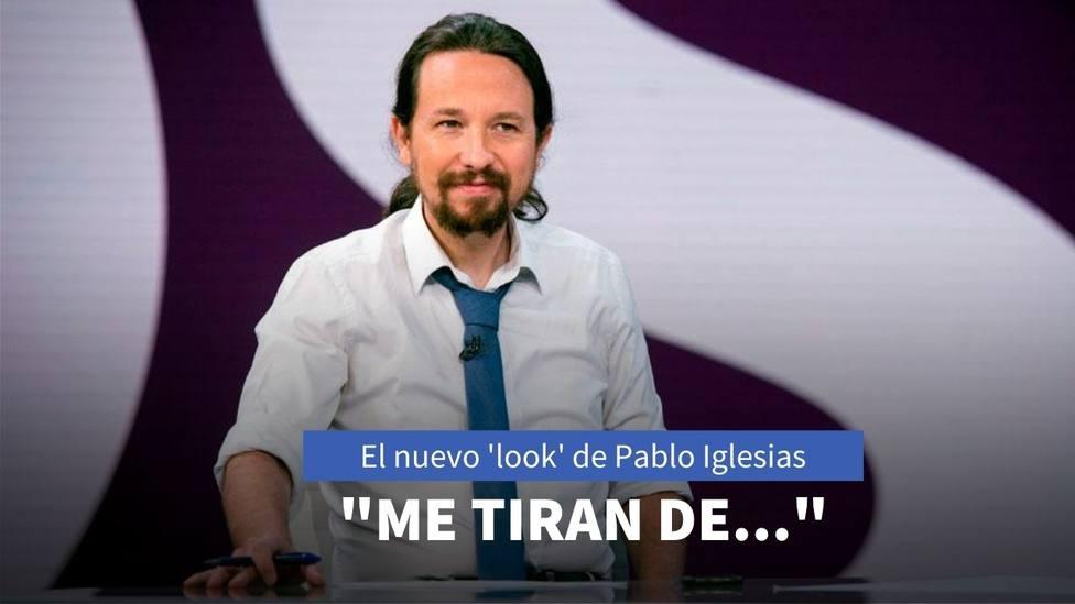 Los motivos del cambio de 'look' de Pablo Iglesias que ha incendiado las redes