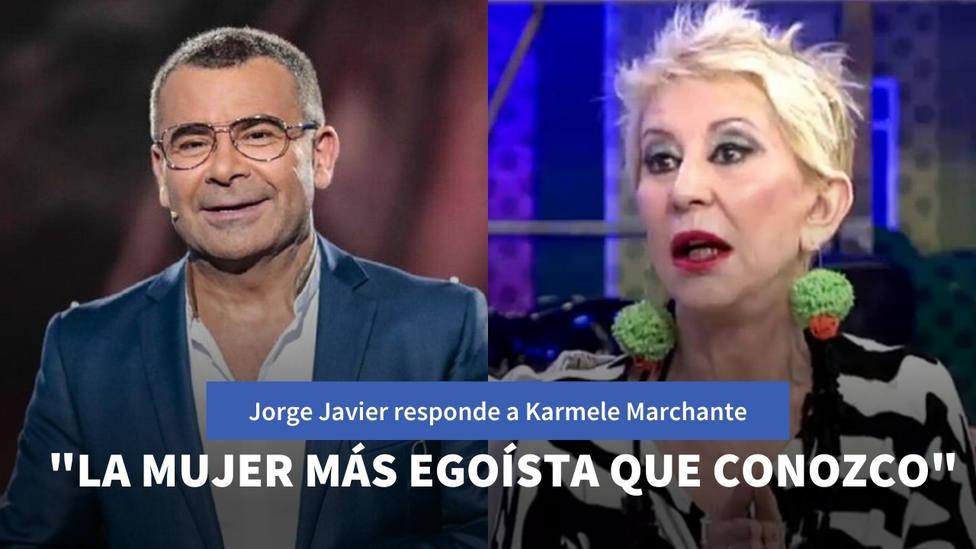 Jorge Javier estalla contra Karmele Marchante tras llamarle públicamente enano psicópata