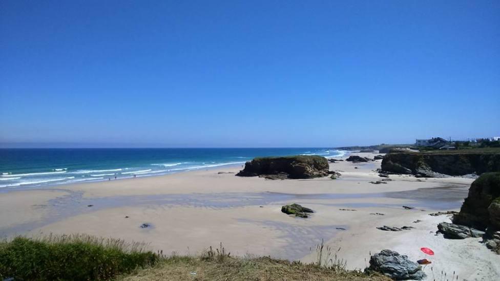 Playa Fontela Balea (imagen de archivo)