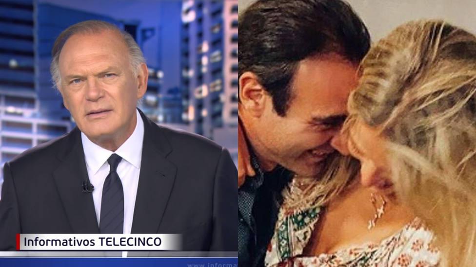 Pedro Piqueras sorprende al dar esta noticia de Enrique Ponce y Ana Soria en directo