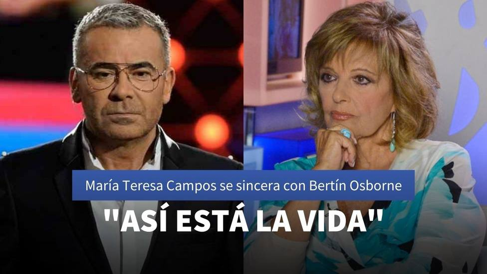 Jorge Javier Vázquez y María Teresa Campos