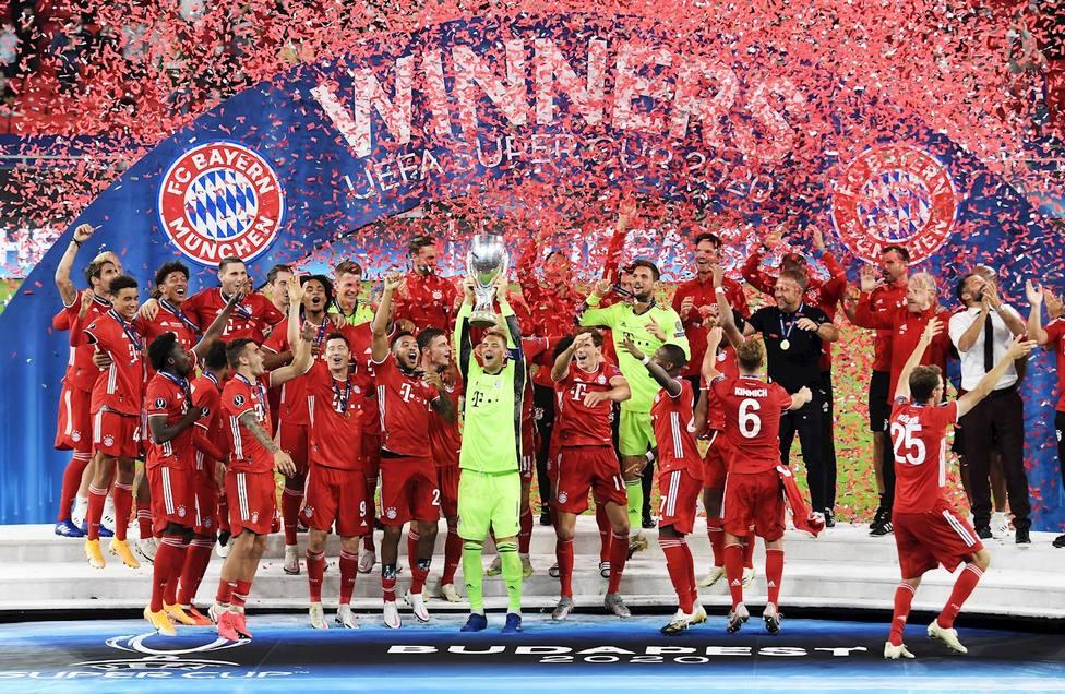 El Bayern de Múnich levanta su segunda Supercopa de Europa (EFE)