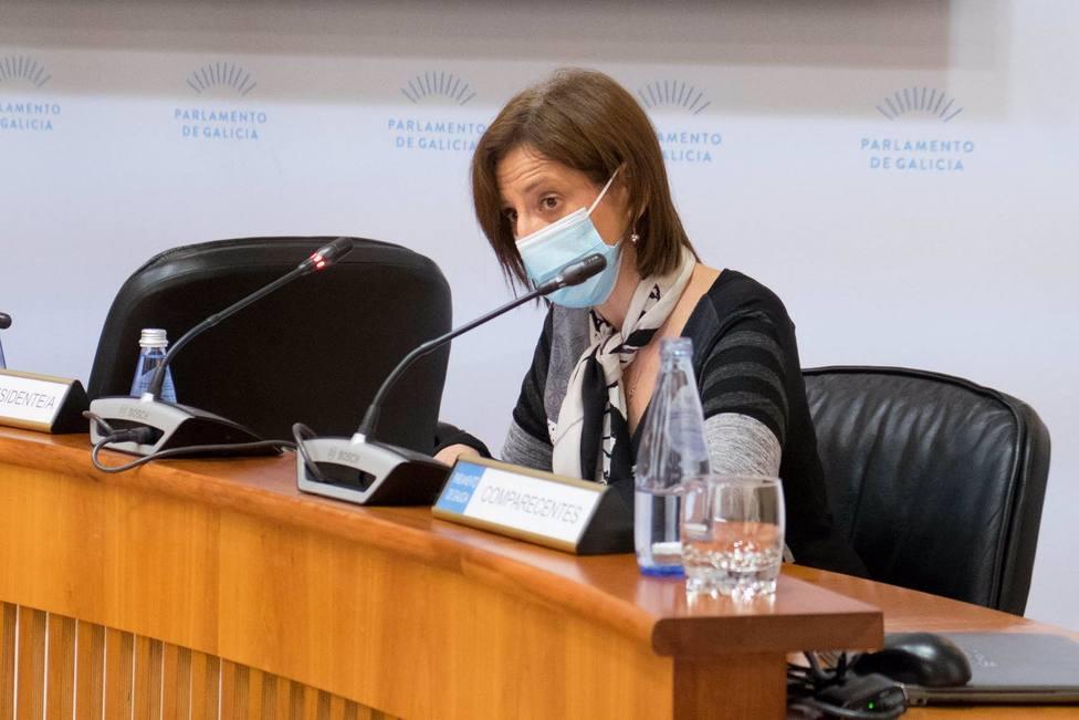 La directora de Augas de Galicia, Teresa Gutiérrez