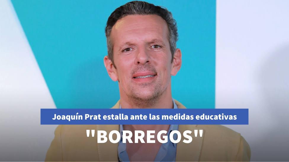 Joaquín Prat estalla ante las medidas educativas del Gobierno: ¿Quieren crear una generación de borregos?
