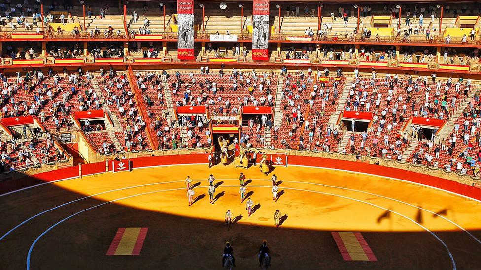 Imagen del paseíllo en la plaza de toros de Córdoba el pasado 12 de octubre