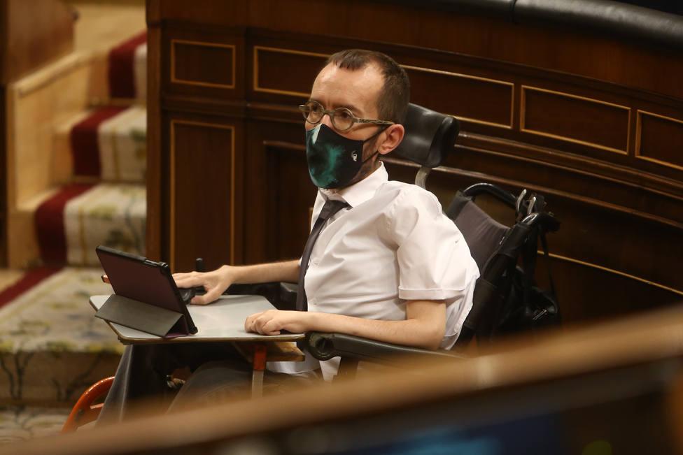 Echenique recurrirá la condena que le obliga a pagar 80.000 euros